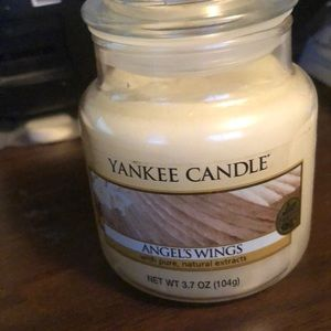 Yankee candle Angels Wings 3.7 oz never burned